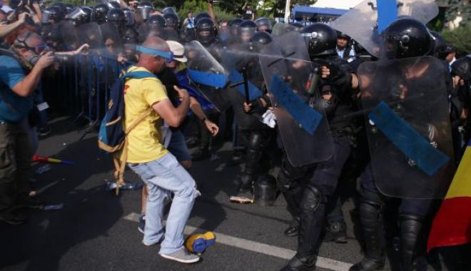 Foto: ONU a început o anchetă cu privire la violenţele Jandarmeriei din 10 august