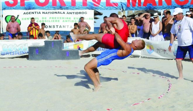 Foto: Spectacol pe nisip! Jocurile Sportive ale Mangaliei