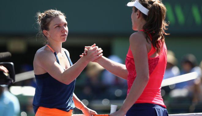 Foto: Simona Halep victorie cu Johanna Konta,  în turul 2 al Madrid Open