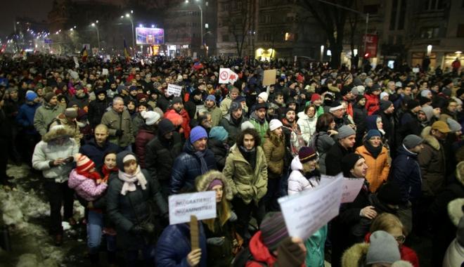 """Foto: """"Această ordonanţă subminează progresul făcut de România în lupta împotriva corupţiei"""""""