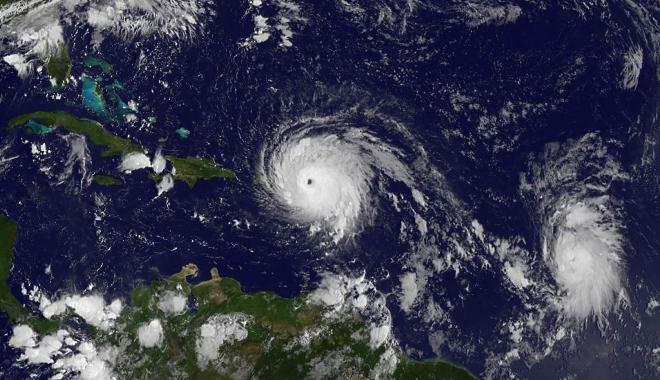 Foto: Un nou uragan prinde putere în Atlantic