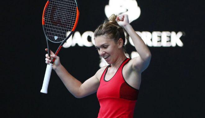 Foto: Ce luptă! Simona Halep s-a calificat  în finala de la Australian Open