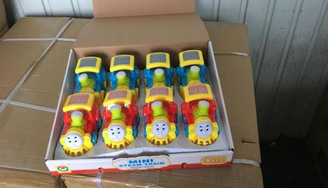 """Foto: Jucării """"chinezeşti"""", confiscate  în Portul Constanţa Sud Agigea"""