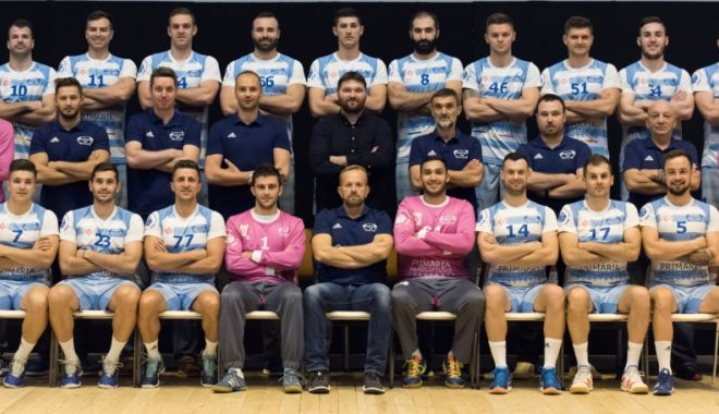 Foto: Jucătorii de la HC Dobrogea Sud, victorioşi în preliminariile Europenelor