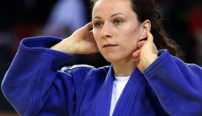 Foto: Judoca Andreea Chiţu a luat argintul,  la Grand Slam-ul  de la Paris