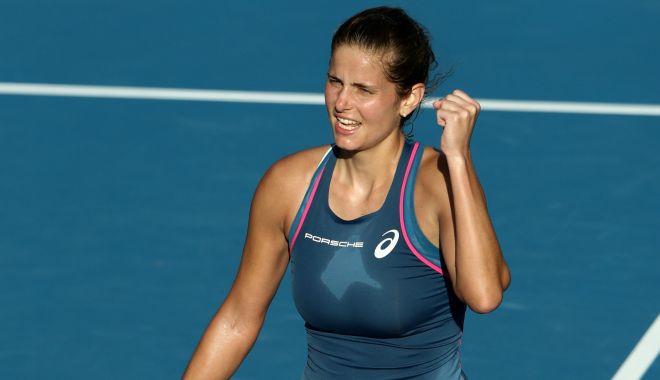 Foto: Julia Goerges, principala favorită, a abandonat în primul tur la Lausanne (WTA)