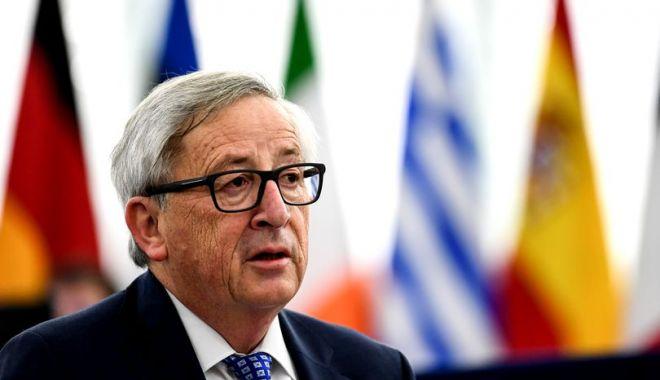 Foto: Jean Claude Juncker: Atrag atenţia Guvernului şi Parlamentului României să nu se îndepărteze de principiile statului de drept