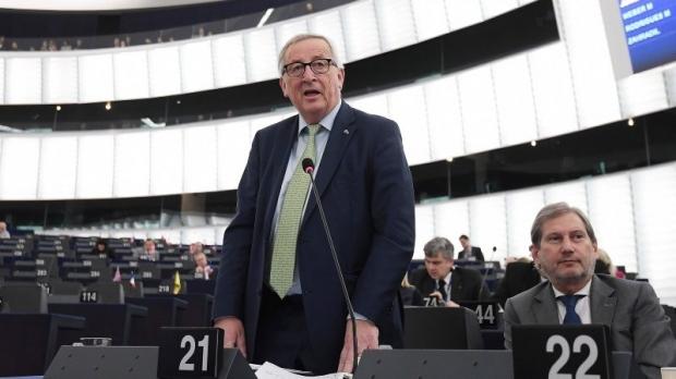 """Foto: Reacţia lui Jean-Claude Juncker, după votul din Parlamentul britanic asupra unui Brexit cu acord: """"Timpul e pe sfârşite"""""""