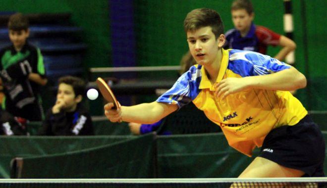 Foto: Juniorii, la startul Europenelor de tenis de masă