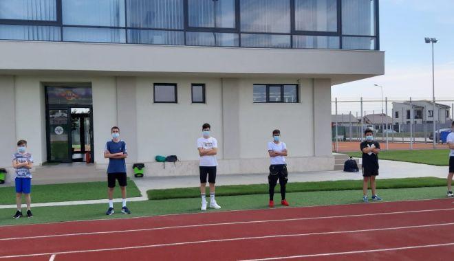 Juniorii de la CS Victoria Cumpăna și-au reluat activitatea.