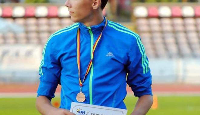 Foto: Constănţeanul Răzvan Grecu, în elita atletismului românesc