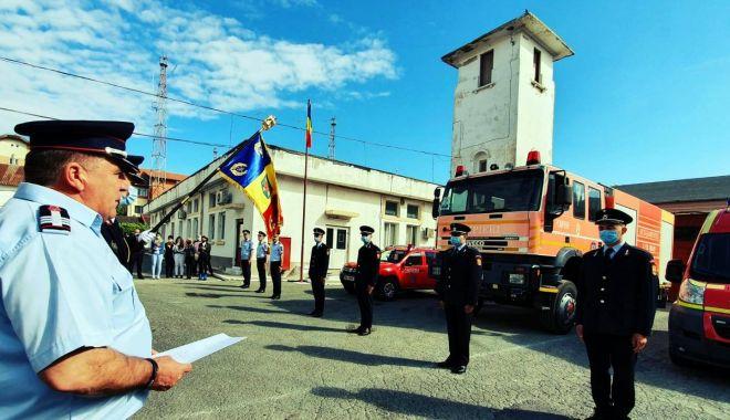 Foto: Jurământ de credință la ISU Dobrogea