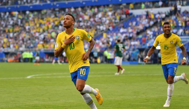 Foto: GALERIE FOTO / CM 2018. BRAZILIA - MEXIC 2-0. Neymar şi Firmino duc Brazilia în sferturi!