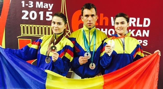 Foto: Karatiştii de la CS Farul, pe podium la Mondialele Shotokan