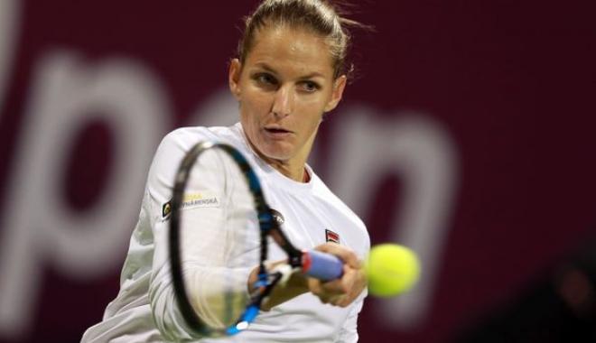 Foto: Tenis / Karolina Pliskova a câștigat turneul de la Doha