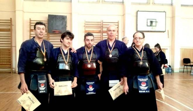 Foto: CS Kaybukan, pe podium la Cupa României la kendo
