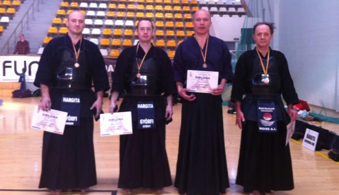 Foto: Constănţenii, evoluţie senzaţională la Cupa României la kendo