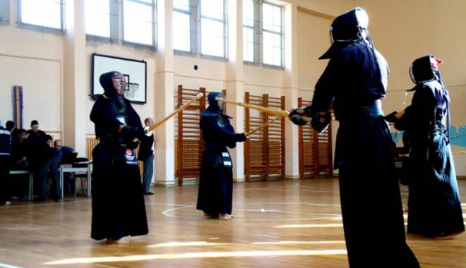 Foto: Constănţenii, decanii de vârstă ai Naţionalelor de kendo