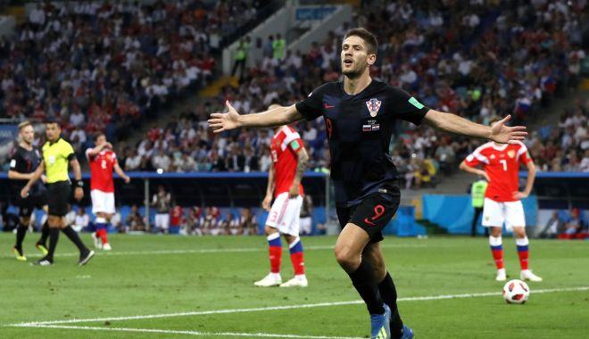 Foto: GALERIE FOTO / CM 2018. Rusia - Croaţia 2-2 (3-4, după penalty-uri) Croaţia s-a calificat în semifinalele Campionatului Mondial, după un meci nebun cu Rusia