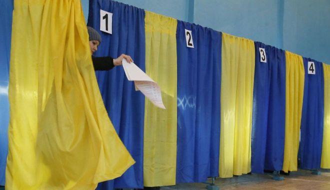Foto: Kievul a înfiinţat 101 secţii de votare în străinătate pentru scrutinul prezidenţial
