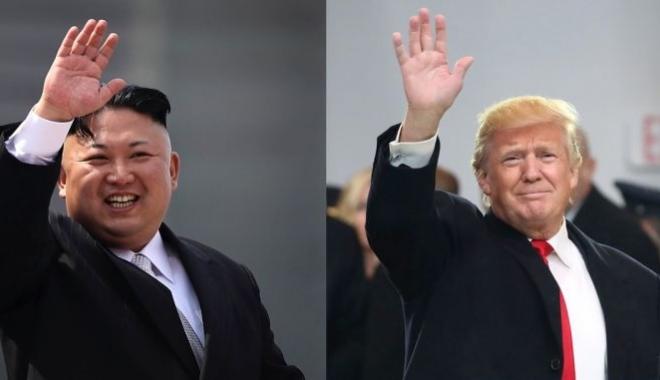 Foto: Donald Trump asigură Coreea de Nord că SUA sunt pregătite de luptă