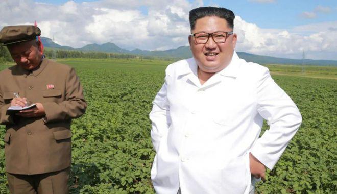 Foto: Kim Jong-un a ales să viziteze o fermă de cartofi  în loc de o întâlnire cu Mike Pompeo