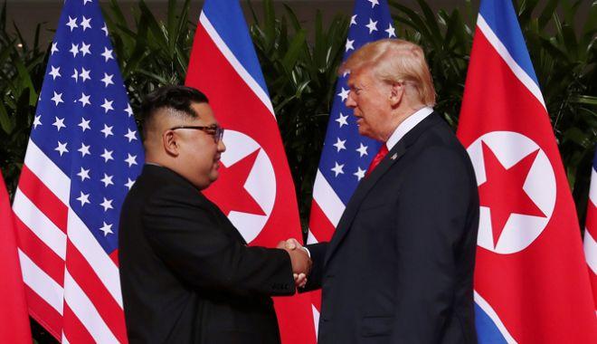 Foto: Kim Jong Un îi propune lui Donald Trump o nouă întâlnire