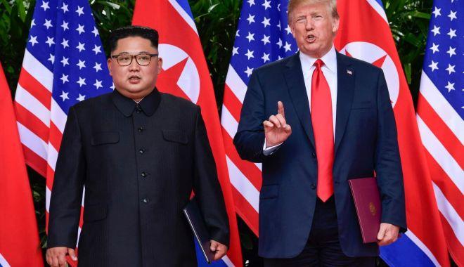 Foto: Kim Jong Un aşteaptă de la Donald Trump o nouă viziune