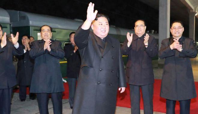 Foto: Kim Jong Un a sosit la Vladivostok pentru summit-ul cu Vladimir Putin