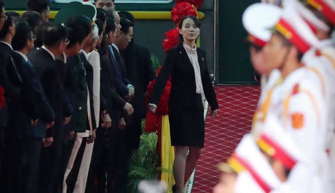 Kim Jong Un, întâmpinat cu covorul roşu înainte de întâlnirea cu Donald Trump - kim6-1551200307.jpg
