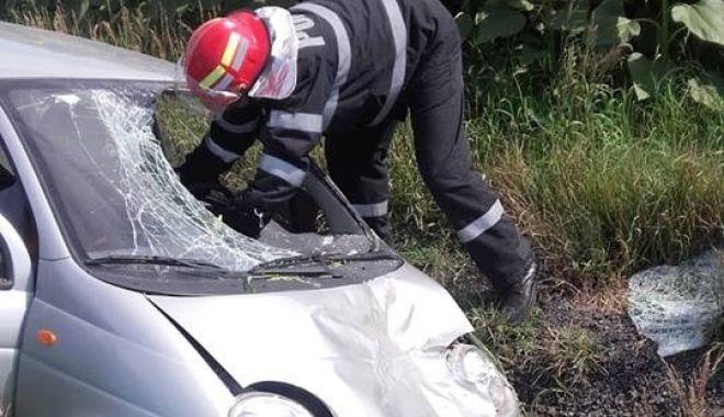 Foto: Tragedie pe şosea. Cum s-a petrecut accidentul în care a murit un copil de 15 ani! De vină, şoferul de 84 de ani