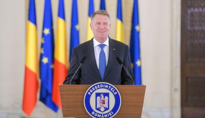 Foto: Klaus Iohannis, declarații de presă la Palatul Cotroceni de la ora 17