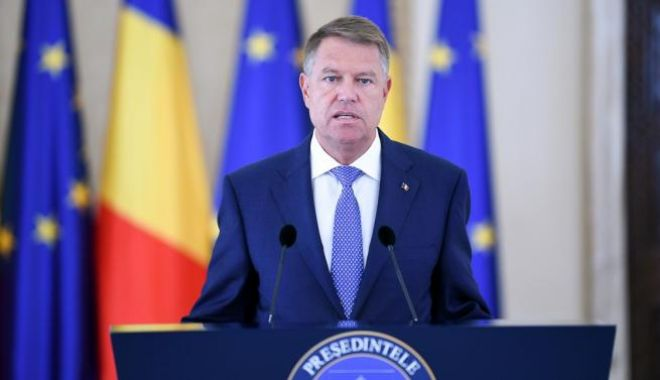Foto: Klaus Iohannis sesizează CCR în cazul legii referitoare la alegerile pentru Parlamentul European