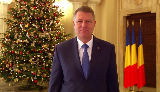 """Foto: KLAUS IOHANNIS, mesaj de Crăciun pentru români: """"Sunt convins că putem găsi puterea pentru a construi o societate mai bună"""""""
