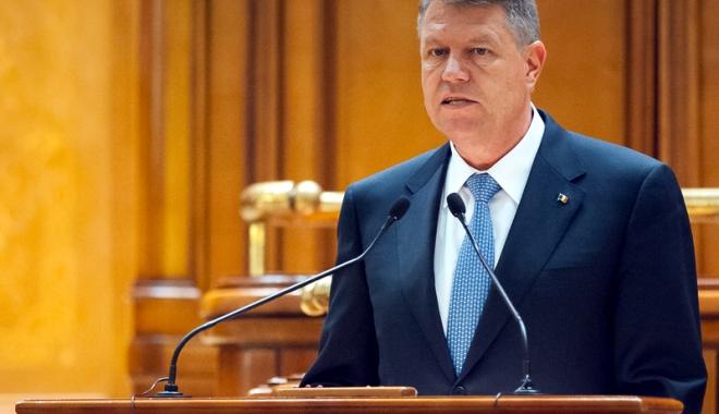 Foto: Circul continuă! Iohannis a vorbit în Parlament, PSD şi ALDE au părăsit sala
