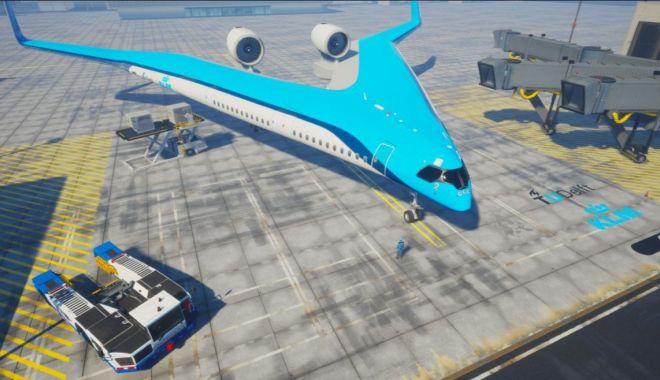 Foto: Inspirat de o chitară, un avion revoluționar de pasageri intră în producție