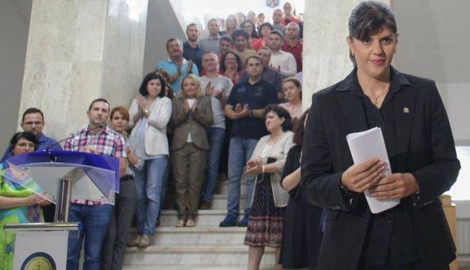 Foto: Laura Codruța Kovesi se va întoarce la DIICOT Sibiu