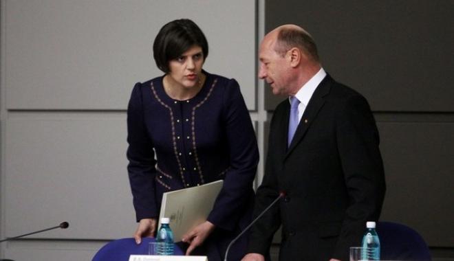 Foto: Băsescu despre Kovesi: A ameninţat un demnitar că vor fi arestări