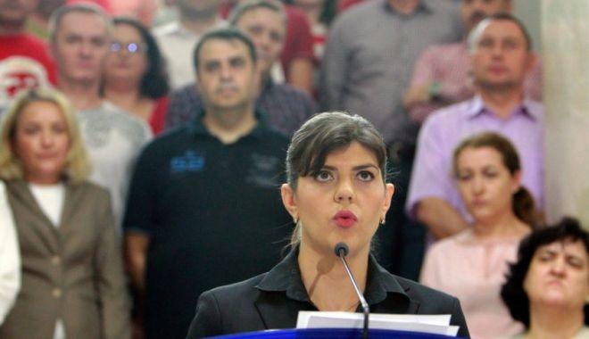 Foto: Parlamentul European o susține oficial pe Laura Codruța Kovesi pentru funcția de procuror-șef european