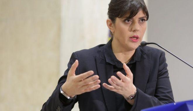 Foto: Laura Codruţa Kovesi, audiată după denunţul lui Sebastian Ghiţă