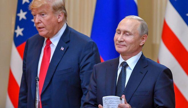 Foto: Kremlinul consideră posibilă o scurtă discuţie Trump-Putin la summitul G20