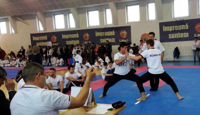 """Foto: Naţionalele de Kung Fu, duminică, la sala """"Tomis"""""""