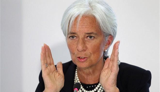 Foto: Avertisment DUR al şefei FMI: O criză majoră pândeşte lumea