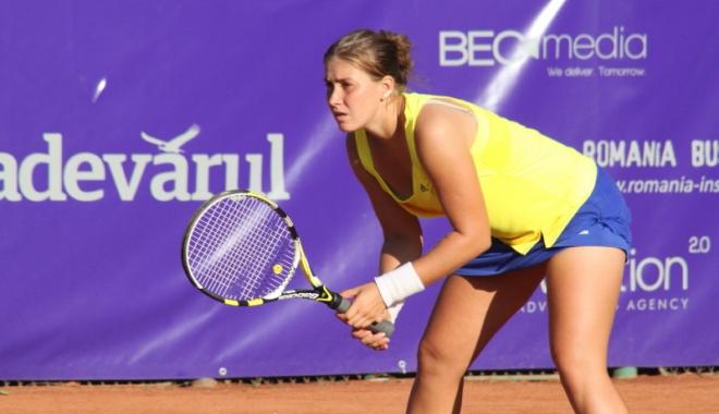 Foto: Tenis / Laura Andrei a câștigat titlul la dublu în turneul ITF de la Chiswick