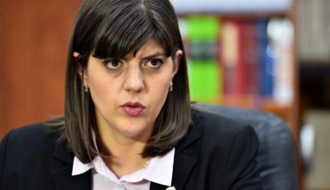 Foto: Laura Codruţa Kovesi a contestat măsura controlului judiciar