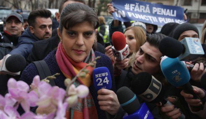 """Foto: Laura Codruța Kovesi: """"Acuzațiile sunt pure fabulații. Nu am comis niciodată fapte penale"""""""