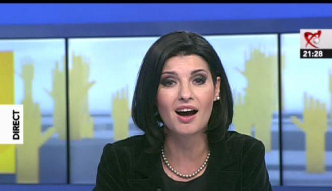 Foto: Lavinia Șandru, suspendată de la Realitatea TV