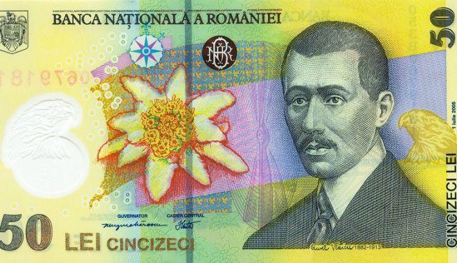 Foto: Leul pierde la dolar și francul elvețian, dar ciupește din euro