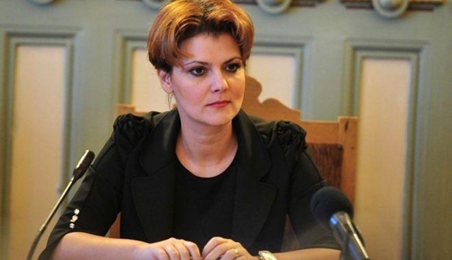 Foto: Lia Olguța Vasilescu, noul purtător de cuvânt al PSD