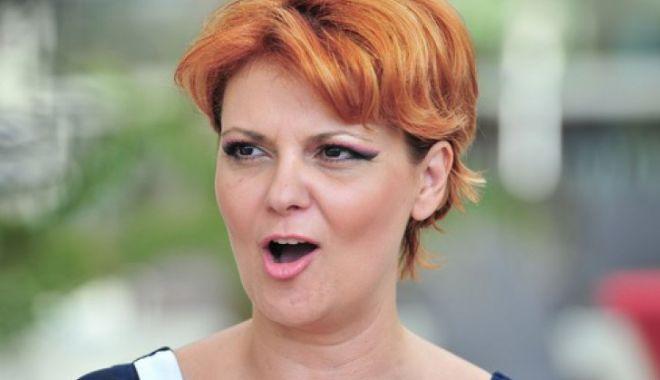 Foto: Olguța Vasilescu, replică acidă pentru Iohannis